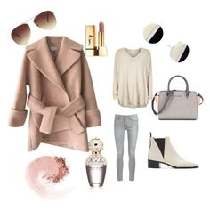 """""""Untitled #11"""" by linasales on Polyvore featuring Carven, Frame Denim, Acne Studios, Michael Kors, River Island, Marc Jacobs, Yves Saint Laurent, NARS Cosmetics, Forever 21 and women's clothing"""