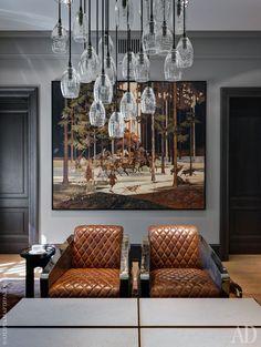 Wall art, modern interior