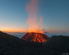 """eruption de sept 2015 , (volcan """"la fournaise"""" )ile de la reunion  volcan la fournaise (reunin island )"""