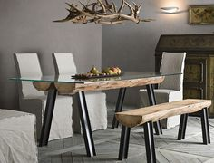 Tavolo magellano ~ Kitchen table magellano by target point lacquered metal structure