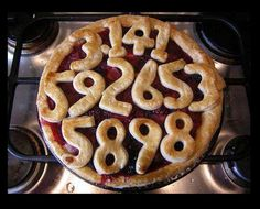 Anne Toth is the Head of Privacy at Google+ posted a picture of a pie she baked.  It is a very Googley pie because it has Pi written all over it.  Need I say more?