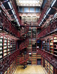 From robotic arms to ornate monasteries: here are the best libraries around the world.