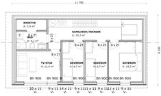 HYTTEN | Spranget Floor Plans, Diagram, Floor Plan Drawing, House Floor Plans