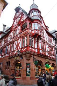Marburg, Germany. Our 25 tips for things to do in Germany: http://www.europealacarte.co.uk/blog/2011/11/21/what-to-do-in-germany/