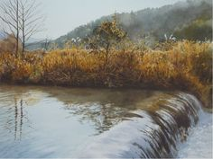 Abe Toshiyuki is a watercolor artist from Japan. He was born in Sakata city in His watercolor paintings are noted for its immense realism Watercolor Water, Watercolor Artists, Watercolor Landscape, Watercolour Painting, Landscape Art, Landscape Paintings, Watercolours, Watercolor Pencils Techniques, Art Aquarelle