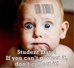 What is happening with all of this data they are collecting from our children?
