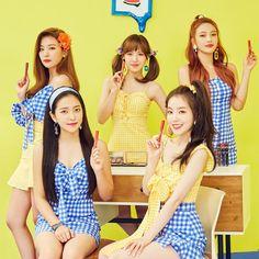 Red Velvet x Etude House Kpop Girl Groups, Korean Girl Groups, Kpop Girls, Park Sooyoung, Snsd, Queens, Redvelvet Kpop, Kim Yerim, Red Velvet Irene