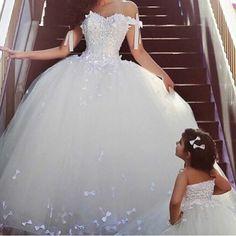 2105 projeto árabe querida fora do ombro Bowknot Puffy princesa vestidos de casamento em Vestidos de noiva de Casamentos e Eventos no AliExpress.com | Alibaba Group