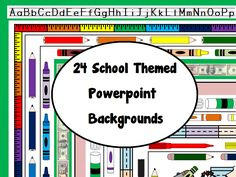 Here are 24 NEW school themed powerpoint designs for your class or professional development. Themes include various supplies, colors, and subjects themes like money. These were created with Microsoft PowerPoint 2007 so they should work with any Microsoft PowerPoint program. To install, extract the files and save in a safe place (like my documents). Open Microsoft PowerPoint, go to Design, and Browse for custom design. Find the folder where you saved the designs. Taa Daa!