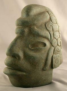 Mayan Green Stone Hacha - CK.0329 Origin: Mexico Circa: 300 AD to 900 AD