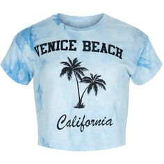 New Look Girls Blue Venice Beach Tie Dye T-Shirt ($9.05) ❤ liked on Polyvore featuring tops, t-shirts, blue pattern, blue top, tye dye t shirts, print tees, blue tie dye t shirt and tie die t shirt