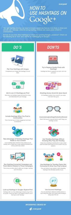 Great overview: How to use Hashtags on Google+   #GooglePlus #socialMedia…