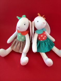 Bunny plush Twins baby gift Gift for sisters Stuffed bunny Tilde Daughter gift Bunny doll Fabric toy Twins Rag doll Sweet doll Personalized by HandmadeToyStore on Etsy https://www.etsy.com/listing/398026515/bunny-plush-twins-baby-gift-gift-for