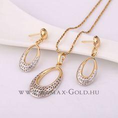Petronella szett - Zomax Gold divatékszer www. Gold Necklace, Bracelets, Jewelry, Bangle Bracelets, Jewellery Making, Jewerly, Jewelery, Gold Necklaces, Jewels