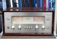 Stereo Amplifier, Wooden Case, Audio Equipment, Audiophile, Retro Vintage, Product Design, Serenity, Sweet, Filing Cabinets