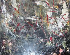 'La Vie' Fine Art Abstract by Lucy Matta - What do you see?