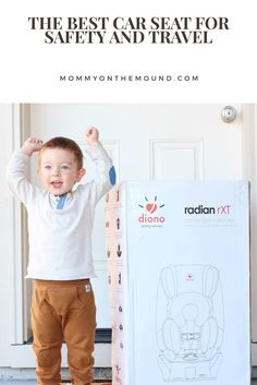 The best car seat for safety and travel with @diono