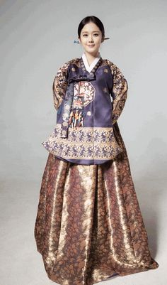 Traditional Imperial Queen Hanbok Clothing