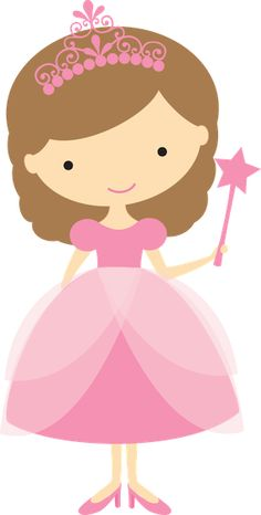 Princesinhas - Minus Princess Pictures, Girl Clipart, Barbie Birthday, Kids Icon, Clip Art, Fairy Princesses, Baby Princess, Cute Friends, Colouring Pages