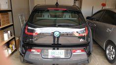 Rear view of BMW i3 Bmw I3 Rex, Rear View