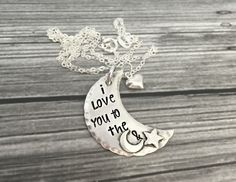 Hand Stamped Jewelry Personalized Jewelry  by DanielleJoyDesigns