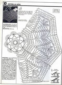 crochet patterns for doilies Filet Crochet, Mandala Au Crochet, Crochet Circles, Crochet Blocks, Crochet Doily Patterns, Crochet Diagram, Crochet Chart, Thread Crochet, Crochet Designs