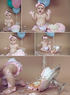 Cake Smash | Nadia J Photography - Yorkville IL maternity newborn baby child photographer