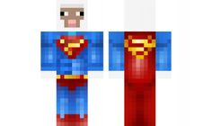 Minecraft skin for Boys Crazy Superman Sheep