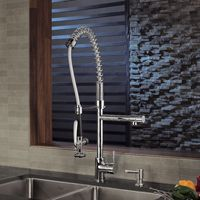 Kraus Pull Down Kitchen Prep Professional Faucet