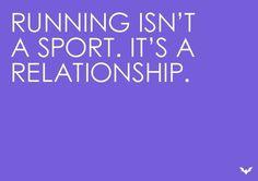 I'm not single.. I'm a runner!