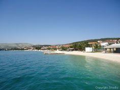 In Okrug Gornji auf der Insel Ciovo reiht sich ein schöner Strand an den anderen.