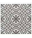 Tile option 1: Grey victorian style pattern