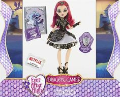 Ever After High Dragon Games Raven Queen Doll Ever After High, Barbie 80s, Monster Prom, Monster High Dolls, Raven Queen Doll, Lizzie Hearts, Ever After Dolls, High Falls, Dragon Games