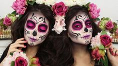 ♡ CATRINA ✧ DIAMOND SUGAR SKULL ✧ Make Up Tutorial | Melissa Samways - YouTube