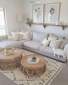 Boho Living Room, Home And Living, Bohemian Living, Living Room Decor Simple, Small Living, Living Rooms, Country Style Living Room, Cute Living Room, Bohemian Bedrooms