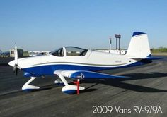 2009 Vans RV-9/9A available at www.trade-a-plane.com.