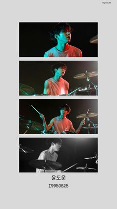 Drums Wallpaper, Day6 Dowoon, Young K, Imaginary Boyfriend, Kpop Aesthetic, Boyfriend Material, Handsome Boys, Photo Credit, Nct