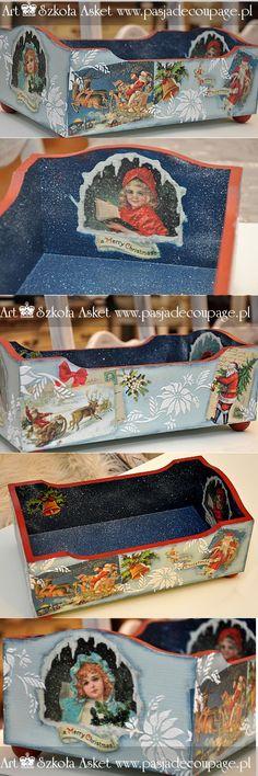 Skrzynka na słodkości - Boże Narodzenie - co na stół