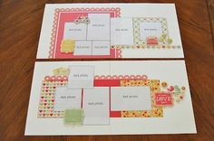 scrapbook generation: Six new page kits available...