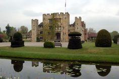 Hever Castle, the childhood home of Anne Boleyn, Henry VIII's second wife.