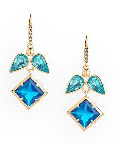The Blue Angel Earrings by JewelMint.com, $29.99