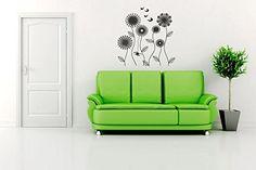Wall Vinyl Sticker Decals Mural Room Design Pattern Flowe...