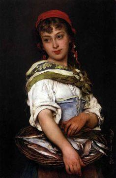 Женские образы Эжена де Блааса