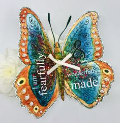 Excited to share this item from my shop: Christian Gift - Handmade Bible Verse Butterfly Psalm 139 v I Am Fearfully & Winderfully Made, Gift Tag Psalm 139, Christian Gifts, Gift Tags, Bible Verses, Butterflies, Etsy Shop, 3d, Christmas Ornaments, Holiday Decor