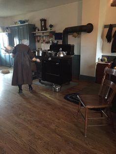 Amish Kitchen Ohio People Village House Community