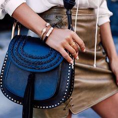 @vivaluxuryblog in her black Stingray bracelet and gold Panther bangle ❤️ available on Nialaya.com #nialaya #womensjewelry #spiritualjewelry http://www.nialaya.com/