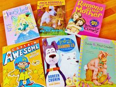 Chapter Books for Grades 1-3