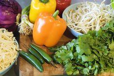 Colorful Asian Salad