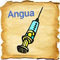 Syringe | Pasa angua - Take a syringe! Visit: henkyspapiamento.com #papiamentu #papiaments #papiamento #language #aruba #bonaire #curaçao #syringe #spuitje #jeringa #seringa #jeringuilla