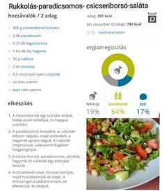 53 Healthy Food, Healthy Recipes, Food Porn, Salad, Diet, Healthy Foods, Healthy Eating Recipes, Salads, Healthy Eating